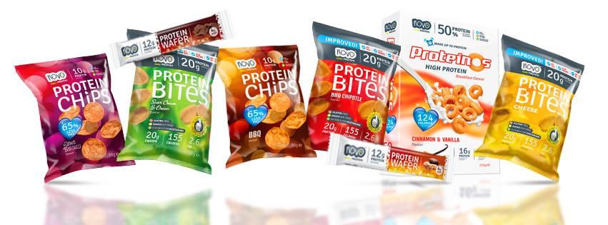 Chipsy białkowe Novo Foods