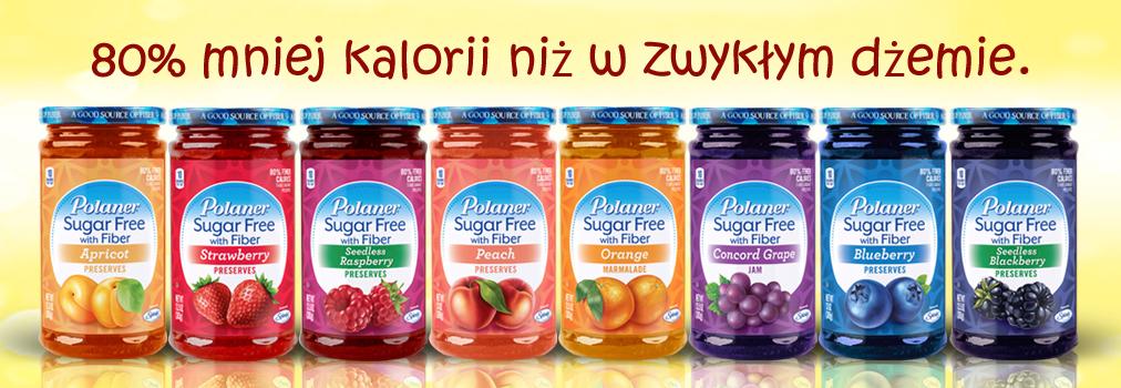 Polaner dżemy bez cukru banner Guiltfree.pl