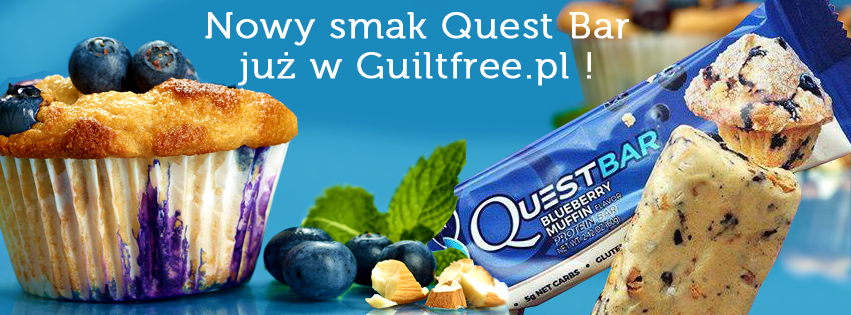 Quest Bar nowy smak Blueberry Muffin