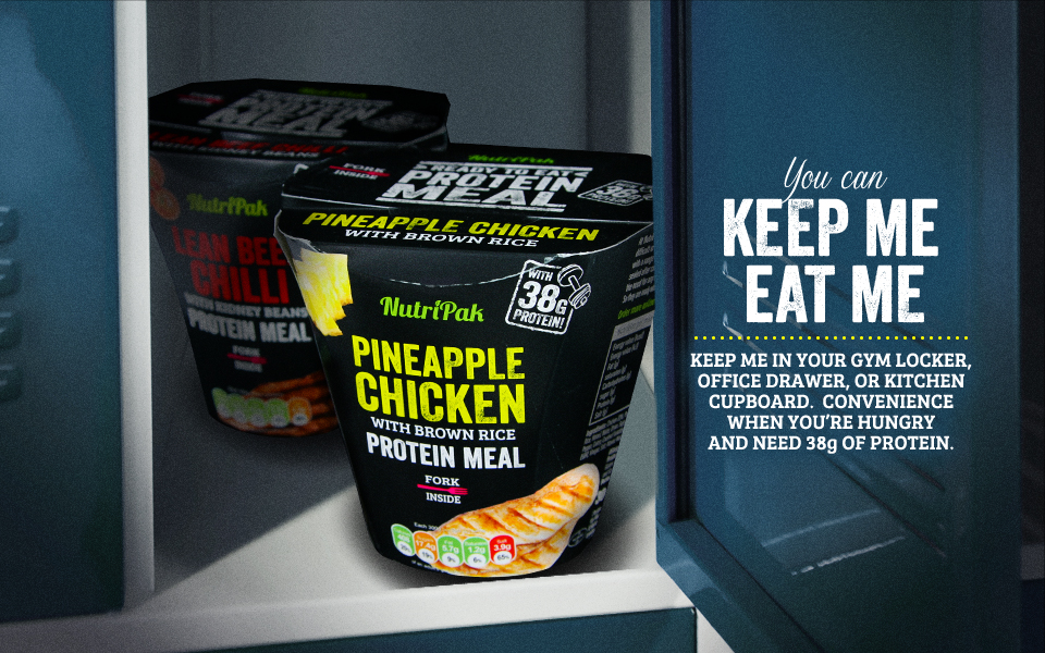 Nutripak Caribbean Pineapple Chicken