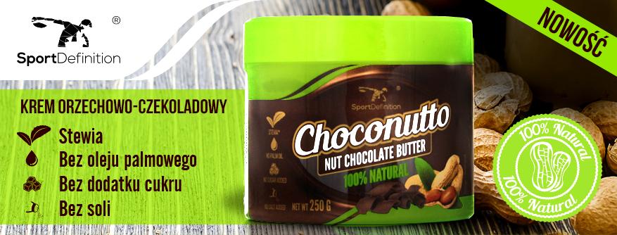 Choconutto zdrowa Nutella ze stewią