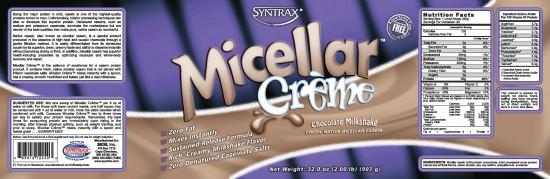 Syntrax Micellar Creme Chocolate - czekoladowa kazeina 100%