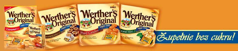 Werther's Original bez cukru dostepne w Polsce w Guiltfree